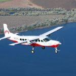 O maior avião elétrico do mundo levanta voo pela primeira vez