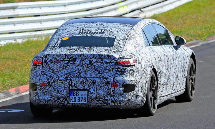 Novo Mercedes EQS