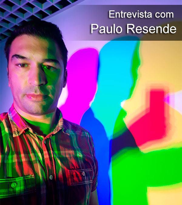 Entrevista com Paulo Resende - Homepage