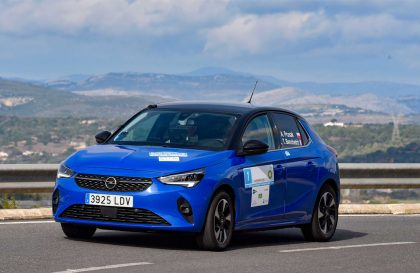 Opel Corsa-e aça FIA de Ralis de Regularidade para automóveis elétricos