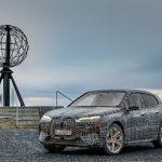 BMW iX submetido aos testes finais de Inverno