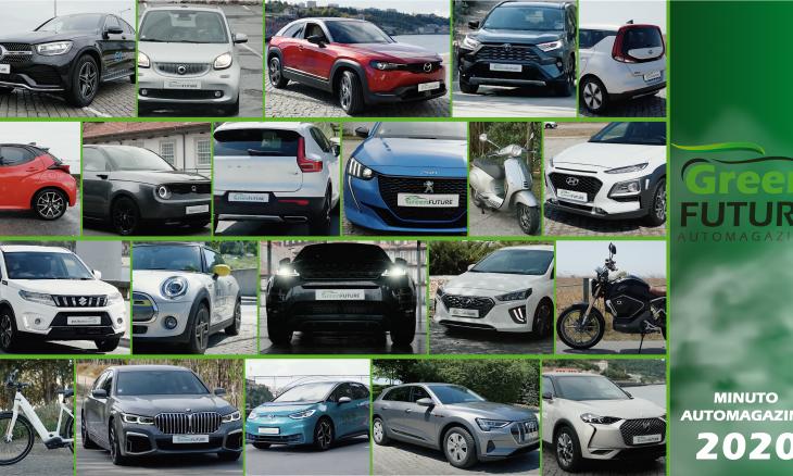 Mais de 20 veículos ensaiados - Minuto AutoMagazine