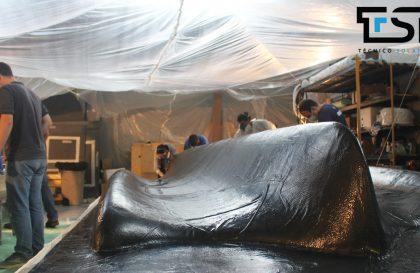 VI. Maquinação e Laminação do molde do SR03 - Técnico Solar Boat