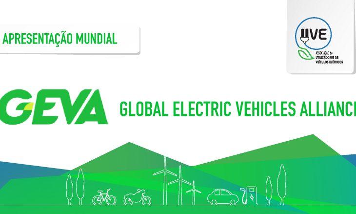 Apresentação da Global EV Alliance, da qual a UVE é membro fundador