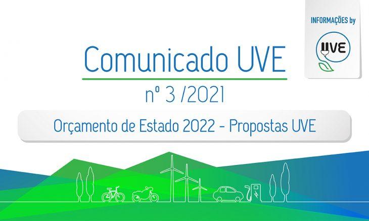 Orçamento de Estado 2022 – Propostas UVE